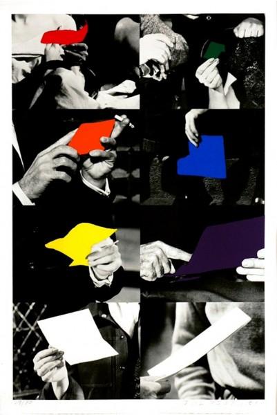 John Baldessari, Two Unfinished Letters, 1992-93