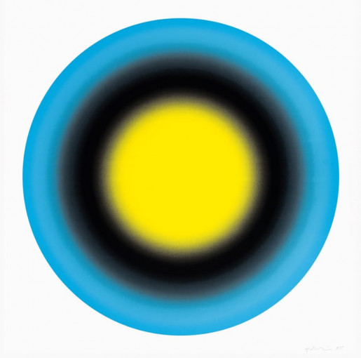 Ugo Rondinone, Small Sun 1, 2019