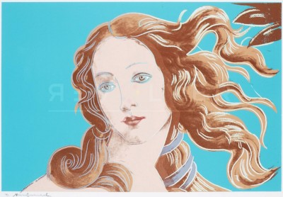 Sandro Botticelli, Birth of Venus, 1482 (FS II.319) by Andy Warhol