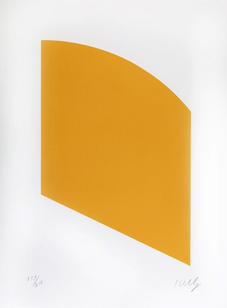 Ellsworth Kelly, Orange, 2004