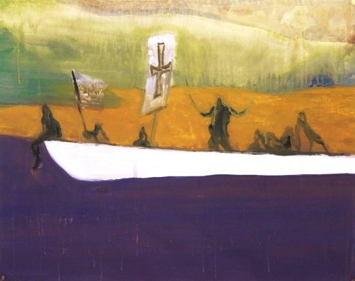 Peter Doig, Untitled (Canoe), 2008