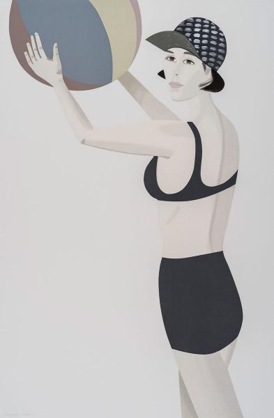 Alex Katz, Chance 2 (Vivien), 2016