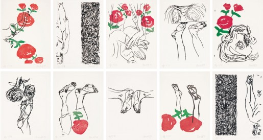 Georg Baselitz, Signs, 1999/2000