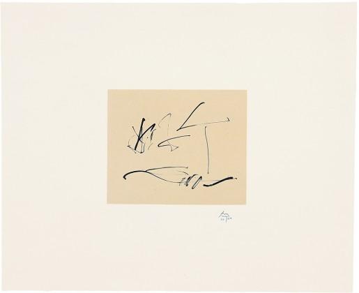 Robert Motherwell, Octavio Paz Suite: Wind, 1988