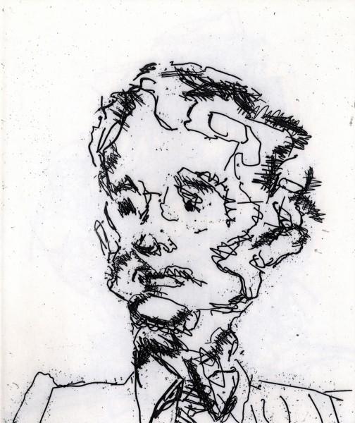 Frank Auerbach, Geoffrey, 1990