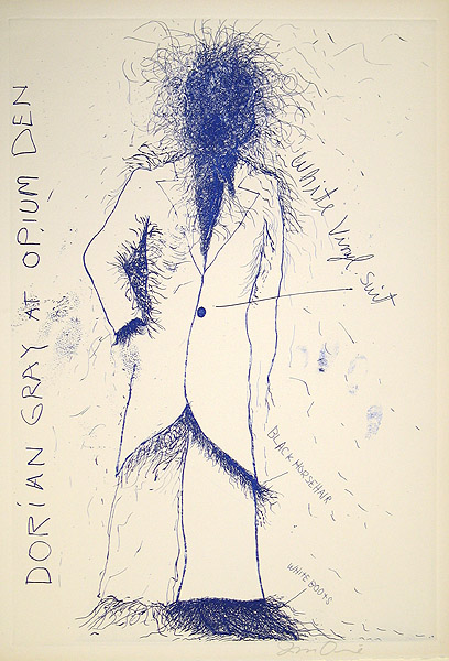 Jim Dine, Dorian Gray, Opium, 1968