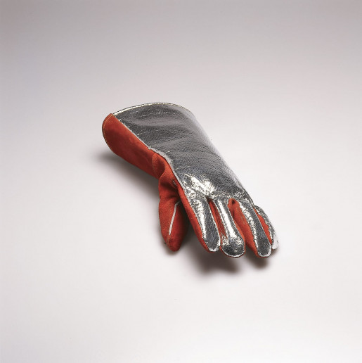 Roman Signer, Fireman's Glove with Photograph, 1995