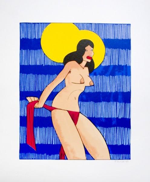 Kenneth Price, Untitled (Topless Bikini), 1981