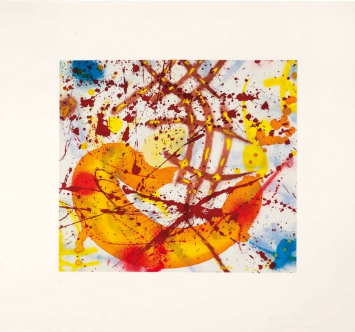 Sam Francis, Untitled Yellow, 1991