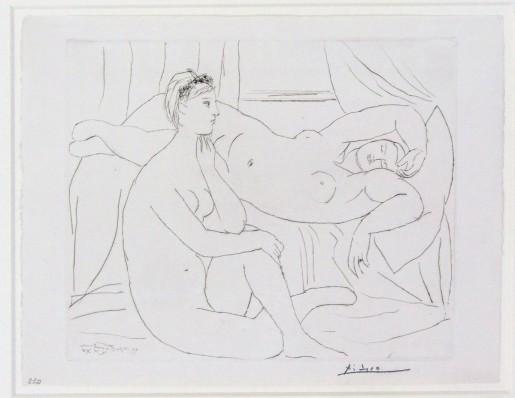 Pablo Picasso, Women Resting | Femmes se Reposant, from: La Suite Vollard, plate 10, 1931