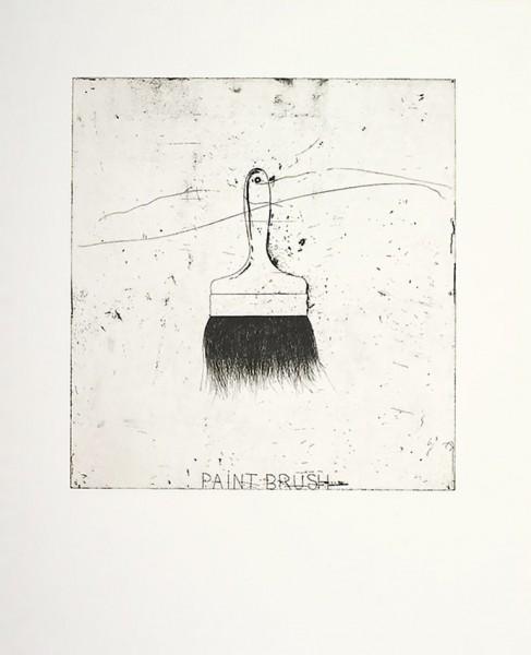 Jim Dine, Paintbrush, 1971