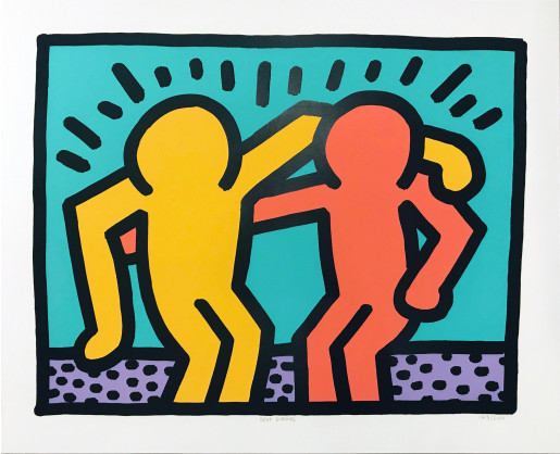 Keith Haring, Pop Shop I (A), 1990