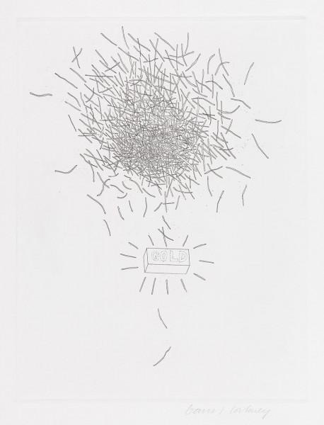 David Hockney, Gold (Rumpelstilzchen), 1969