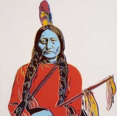 Sitting Bull (FS IIIA.70) by Andy Warhol