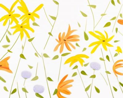 Flowers 2 by Alex Katz