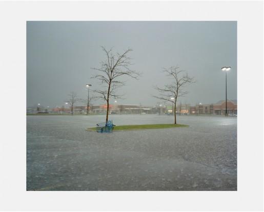 Dawin Meckel, rain, Detroit, from DownTown - Detroit, 2009