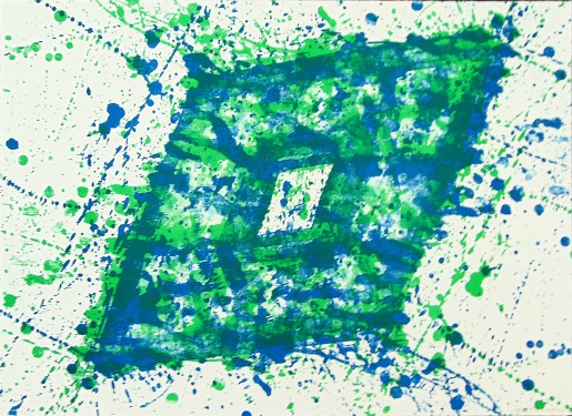 "Sam Francis, Untitled SF 353 (from ""Papierski Portfolio""), 1973-84"