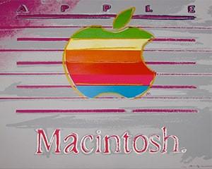 Apple Trial Proof (FS II.359) by Andy Warhol