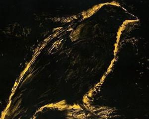 Raven, Suns Night Glow by Jim Dine