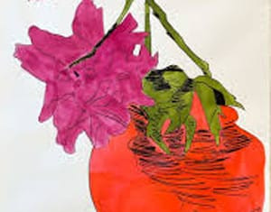 Flowers (Hand-Colored) (FS II.119) by Andy Warhol