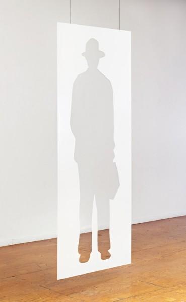 Jonathan Borofsky, Man with a Briefcase, 2012