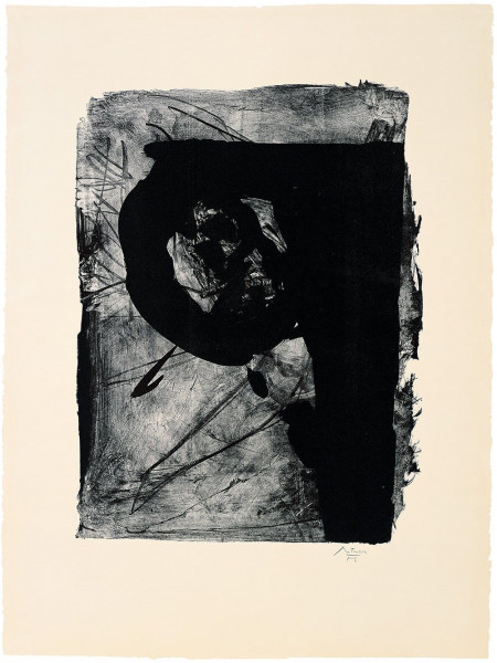 Robert Motherwell, Poet 1, 1962