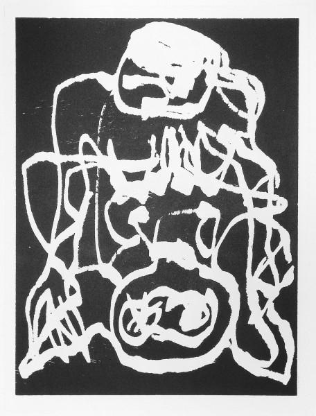 A.R. Penck, Paar (K), 1991