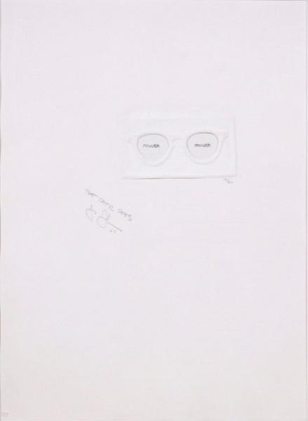 Jasper Johns, The Critic Sees, 1967