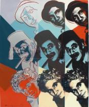 "The Marx Brothers, from the Portfolio ""Ten Portraits of Jews of the Twentieth Century"""