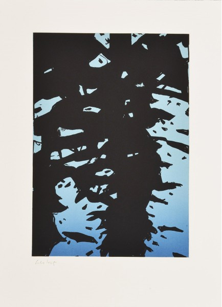 Alex Katz, Reflection I, 2010