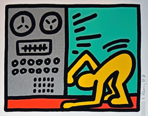 Keith Haring, Pop Shop III (4), 1989