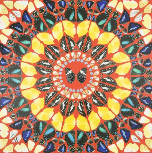 Damien Hirst, Psalm: Benedicam Domino, 2015