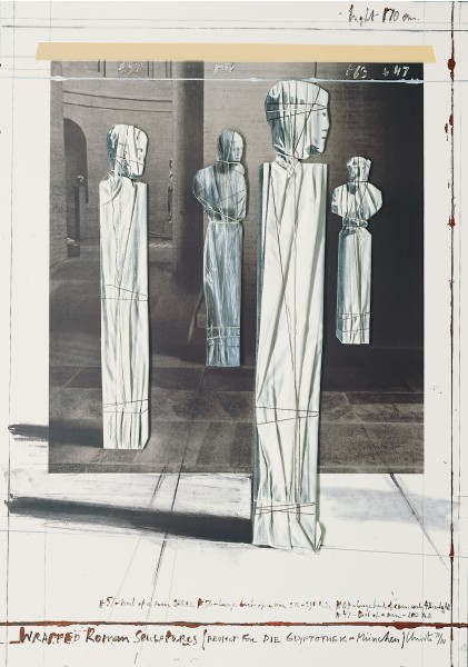 Christo, Wrapped Roman Sculptures, 1991