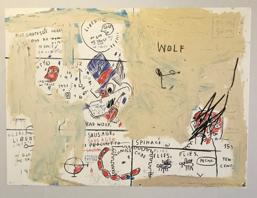 Jean-Michel Basquiat, Wolf Sausage, 1982