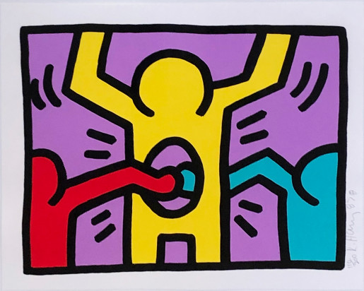 Keith Haring, Pop Shop I (C), 1987