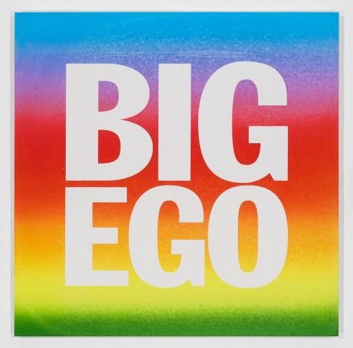 John Giorno, BIG EGO XL, 2017
