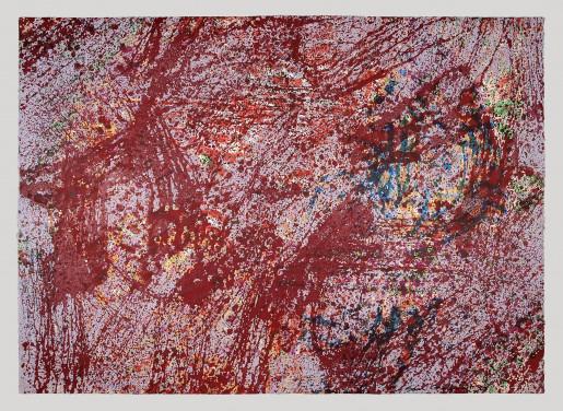 Sam Gilliam, Lattice Memory, 1999