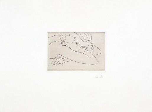 Henri Matisse, Jeune femme le visage enfoui dans les bras, 1929