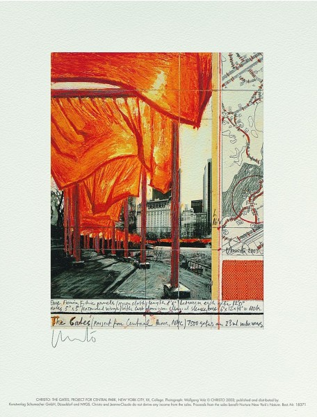 Christo, The Gates XX, 2003