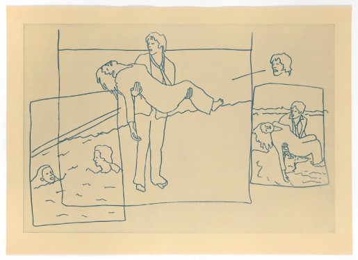 Ida Applebroog, Vellum Sketches II, 2011