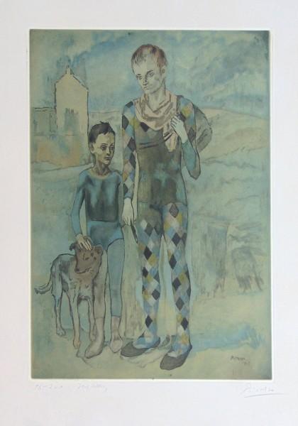 Pablo Picasso, Acrobats | Les Saltimbanques, 1905-1922