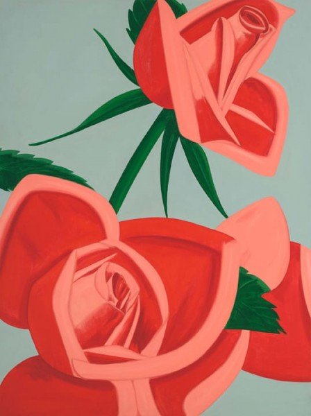 Alex Katz, Rose Bud, 2019