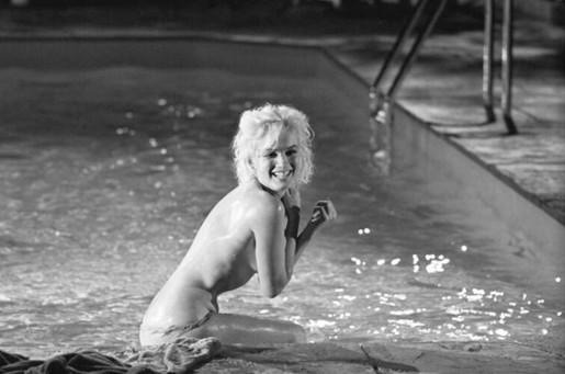 Lawrence Schiller, Marilyn Monroe (large): Roll 10 Frame 16, 1962