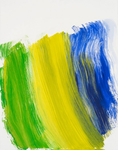 Howard Hodgkin, The Road to Rio, 2016