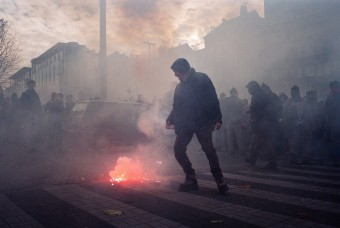 Protests against EU summit in Brussels, Belgium by Julian Röder