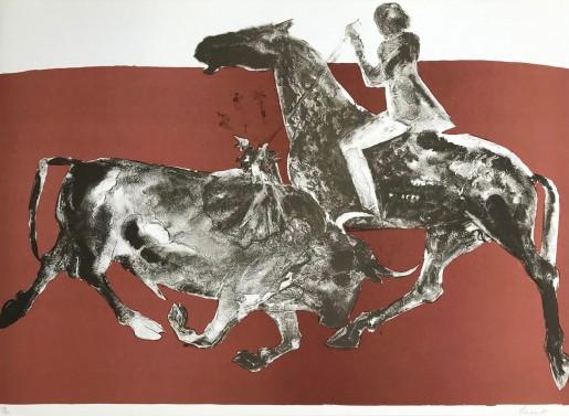 Elisabeth Frink, Rejoneadora One, 1973