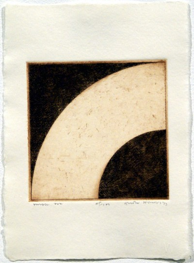 """Small Arc (from """"Eighteen Small Prints"""") by Gordon House"""