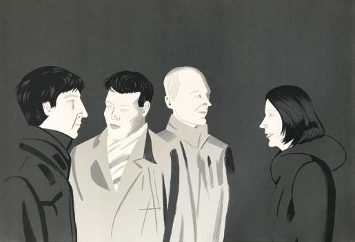 Alex Katz, Unfamiliar Image, 2001