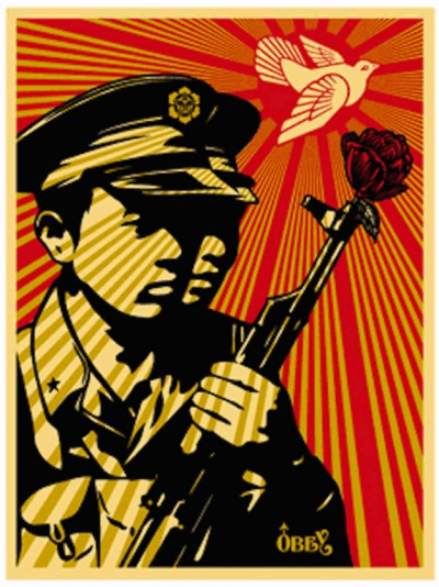 Shepard Fairey-Chinese Soldiers