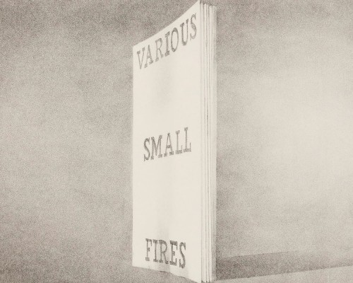 Various Small Fires (from Book Covers) by Ed Ruscha